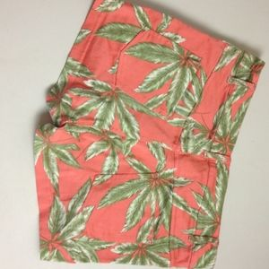 Motel Rocks Shorts - Motel Rocks - Leaf shorts